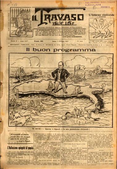 Fascist Italian Propoganda One
